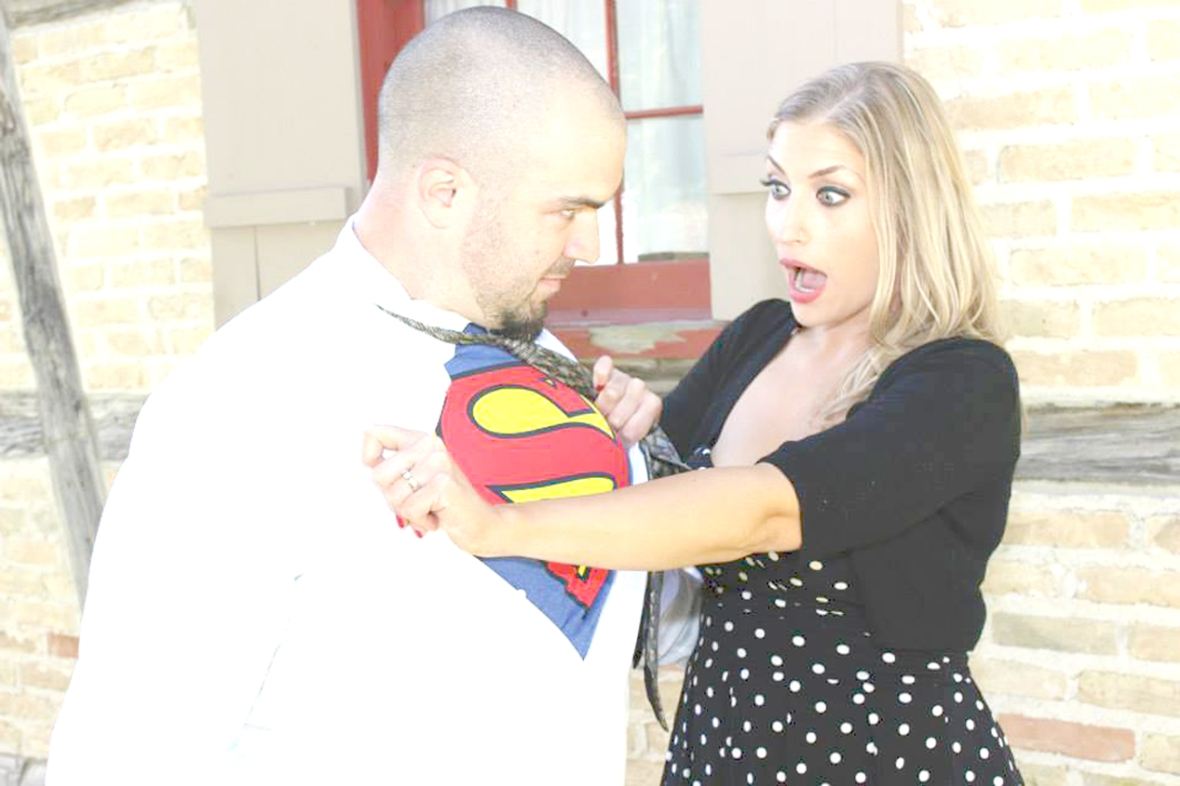 My husband is Superman. Almost Her Blog