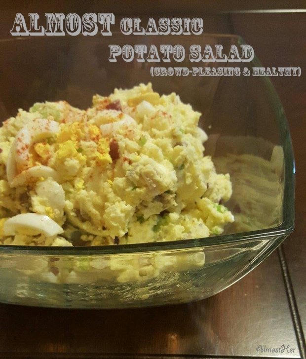Check out this amazing potato salad at Almost Her Blog!