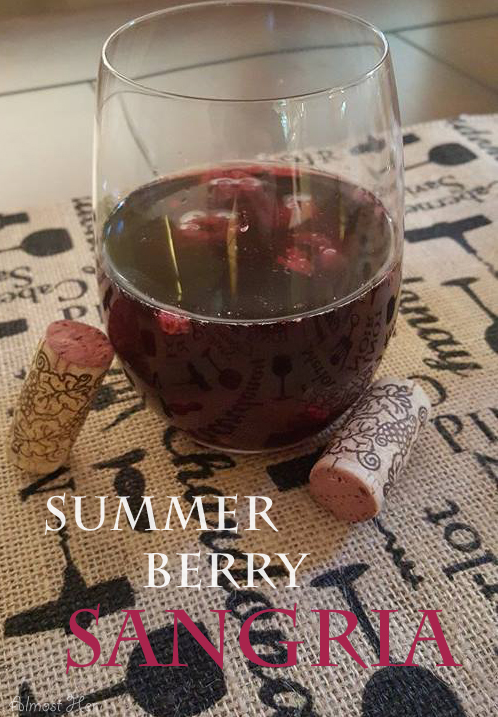 Delish Summer Berry Sangria at Almost Her Blog!
