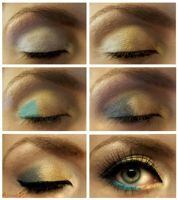 Brewers Inspired Eye Shadow Look! Almost Her Blog