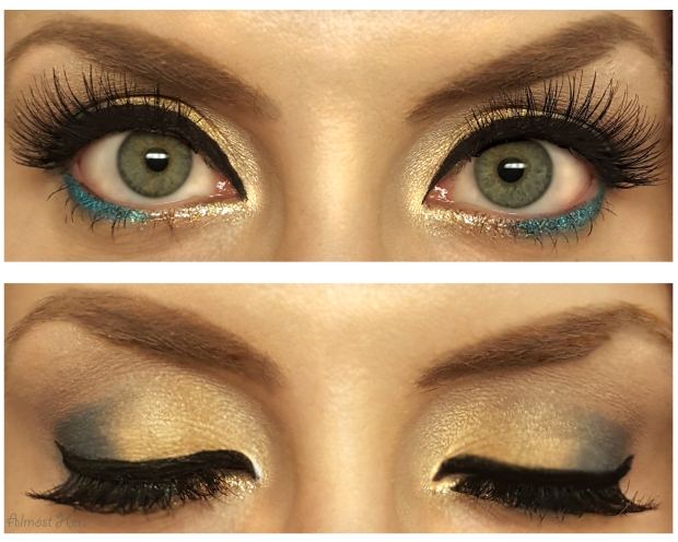 Brewers Inspired Eye Shadow! Almost Her Blog