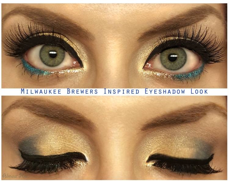 Milwaukee Brewers Inspired Look! Almost Her Blog