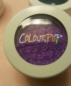 ColourPop Eyeshadow in Dare. Swatches at AlmostHerBlog.com