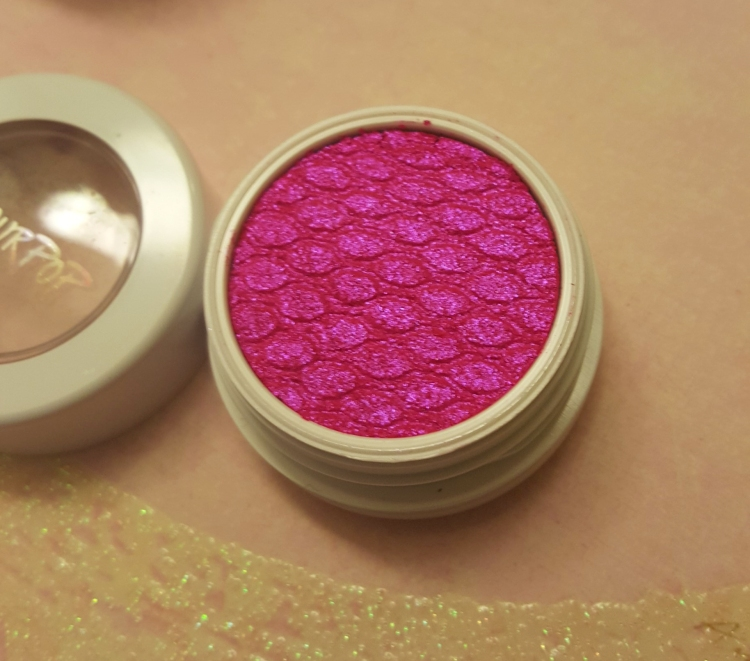 ColourPop Eyeshadow in Slave2Pink. Swatches at AlmostHerBlog.com
