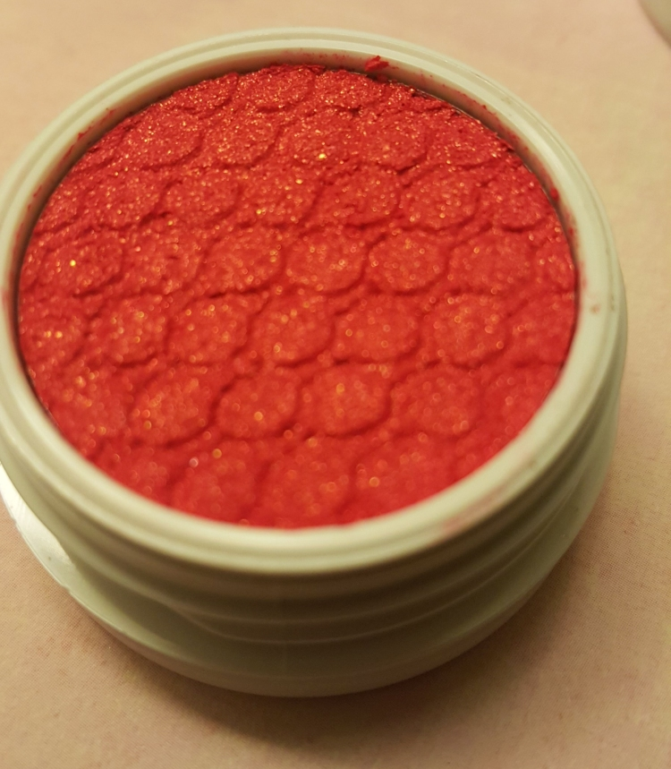 ColourPop Eyeshadow in Erotic. Swatches at AlmostHerBlog.com