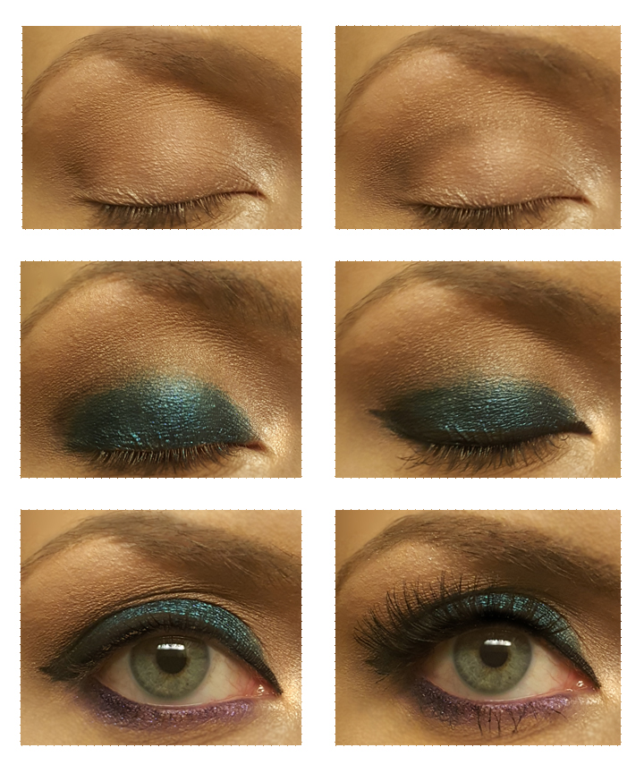 Teal and Purple Eyeshadow Look! www.almostherblog.com #colourpop #eyeshadow