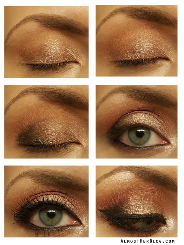 Moroccan Inspired Eyeshadow Look at Almost Her Blog! #anastasiabeverlyhills #bblogger #eyeshadow