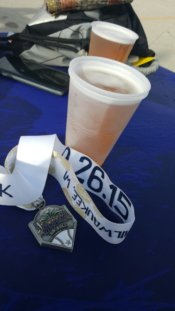 Brewers 10k! almostherblog.com