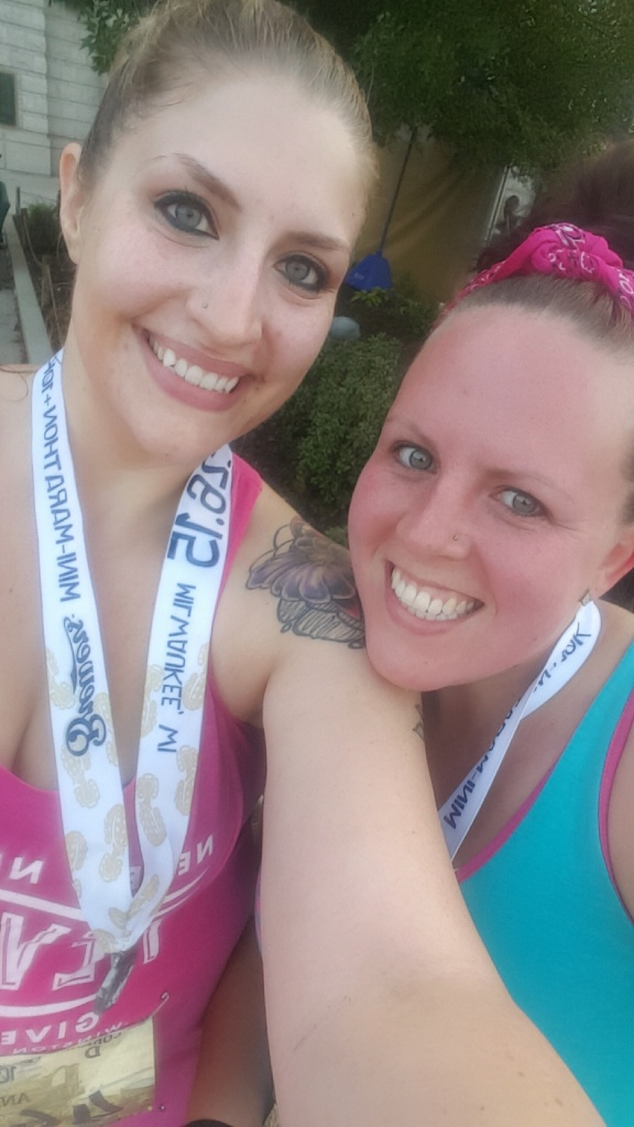 Finished Brewers 10k! almostherblog.com