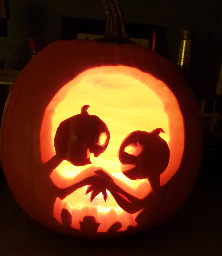My pumpkin this year =) almostherblog.com