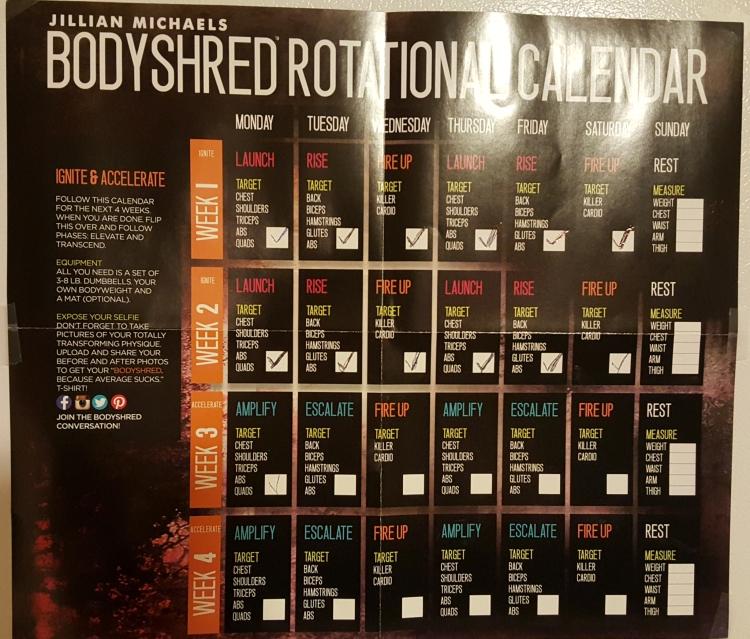 Jillian Michaels BodyShred Review at Almostherblog.com #jillianmichaels #BodyShred