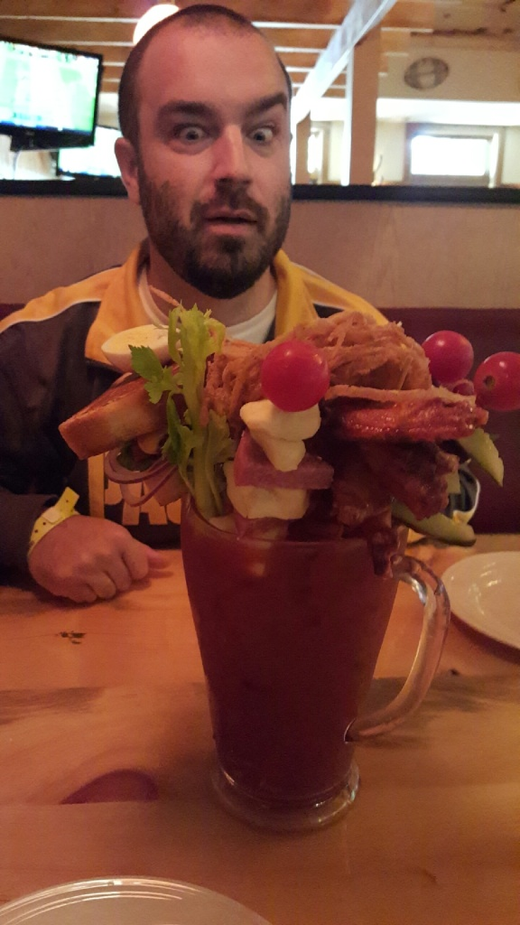 Biggest Bloody Mary Ever