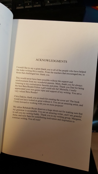 "Acknowledgments for ""Through the Mountains"" by Malinda Andrews"