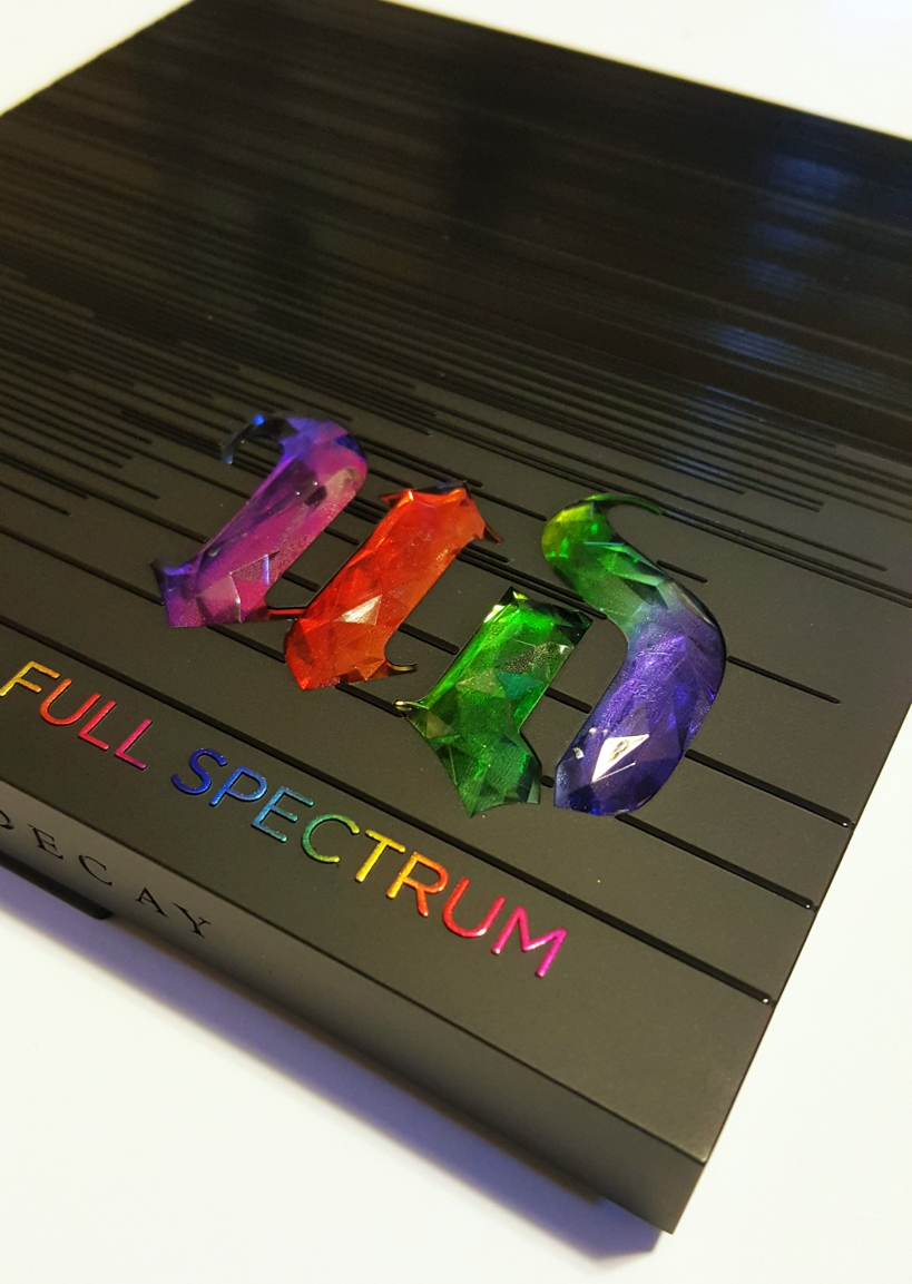 Urban Decay Full Spectrum Palette! #udfullspectrum #rainboweyeshadow #urbandecay